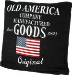 PODUSZKA OLD AD AMERICA CUSHION DESIGNS black 1